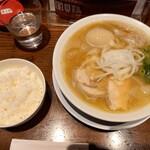 RAMEN 風見鶏 - 魚介塩、ライス