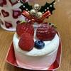 ドルチェ フェリーチェ - 料理写真:クリスマス仕様のケーキ