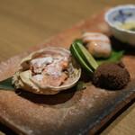 ぎんざ阿吽 - 香箱蟹