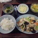 順香 - 鶏胸肉と野菜の塩炒め