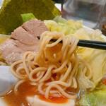 しょうゆとんこつラーメン 匠家 - 麺は 細麺・太麺から選べて  太麺