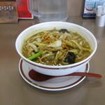 ぼん天 - 料理写真:「伽哩湯麺」です。2020/12