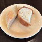 143232048 - 【プリフィックスコース】(1800円税込)のパン。