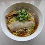 濃厚つけ麺・ラーメン 八重桜 - 中華そば 醤油 麺大盛