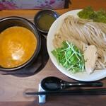 ヌードル 麺和 - 濃厚オマール海老のトリュフつけ麺 麺大盛