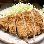 とんかつ繁 - ロースかつ定食 1,350円