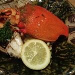 おかもと四季の味 - 料理写真:アサヒガニです