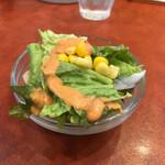ヤミヤミカリー - サラダ