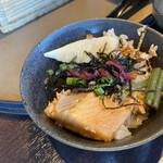 旬のお料理・釜飯 いちえ - お茶漬け風にアレンジ