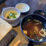 旬のお料理・釜飯 いちえ - 茶碗蒸しは平日限定セットに
