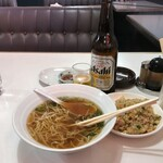 西安小牧店 - ランチ(ラーメン+炒飯)