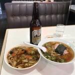 西安小牧店 - ランチ(ラーメン+中華飯)