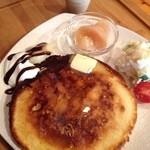 リカフェ - モーニング♫ パンケーキセット 650円