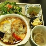 14325883 - 奥多摩野菜の焼チーズカレー1,100円