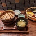 料理屋 とり匠 - 鶏ひつまぶし膳2