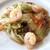 チャイナワン - 料理写真:海老の白菜の豆鼓炒め
