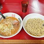 ラーメン二郎 - 料理写真:「ニンニクとゴマ油のつけ麺」
