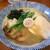 黄昏タンデム - 料理写真:魚介にごりそばです☆ 2020-1221訪問