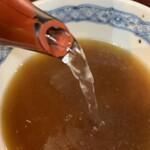 そば処蔵乃家 - そば湯と一緒に飲む