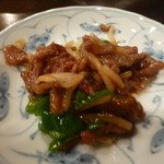 倪楊倫 - 牛肉とピーマン炒め