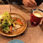 個室 塊肉×農園野菜 Nick&Noojoo -