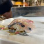 恵寿司 - シマアジ  おまかせ食べ放題60分2000円