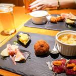 東京オーブン - 前菜の盛り合わせ(1人づつ)