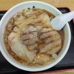花鳥風月 - 海老ワンタンメン(醤油)760円