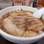 花鳥風月 - 海老ワンタンメン(醤油)