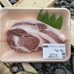 名代の肉 十八屋本店 - 料理写真:愛媛県産レモンポークロースステーキ(2020年12月)
