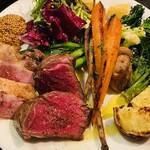 ビババンコ - お肉と旬野菜の鉄板焼き