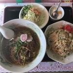 ニュー香蘭 - ラーメン定食