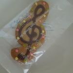 シンフォニーナガノ - ト音記号クッキー