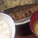 14328766 - さばの定食(550円)