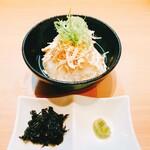 らぁ麺すみ田 - 鶏茶漬け