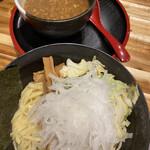 ラーメン海山 - つけ麺醤油