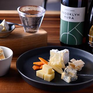 日本酒×チーズ