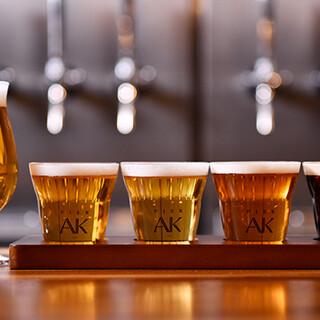 国産クラフトビールと新鮮な日本酒をどうぞ♪