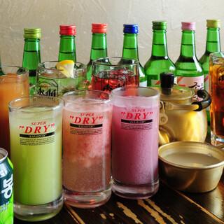 2種類の選べる単品飲み放題♪2時間とことん飲みましょう!