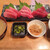 まるいち食堂 - 料理写真:まぐろ3点盛定食