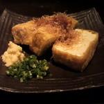 14329903 - 裏メニュ・厚揚豆腐