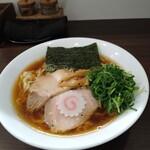 麺や 河野 - 醤油らーめん 790円 大盛0円