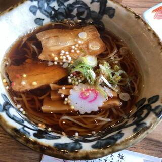 たまゆら - 料理写真:たまり醤油麺