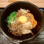 カルビ丼とスン豆腐専門店 韓丼 - 料理写真:石焼ピビンバ 750円