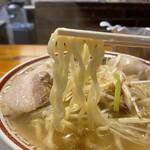 中華そば専門 田中そば店 - 麺