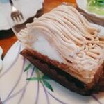 パティスリー ザキ - 料理写真:モンブラン