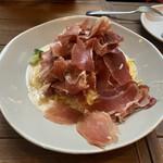 Italian Kitchen VANSAN - イタリア産生ハムのクリームパスタ