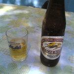 燈籠茶屋 - ビール。