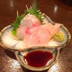 フルミチ  - オニカサゴ刺身300円