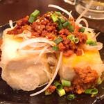 フルミチ  - 肉味噌豆腐350円